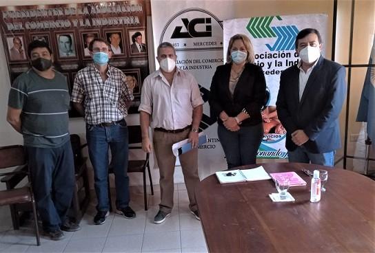 El gobierno correntino y empresarios coordinan la administración del Parque Industrial Mercedes
